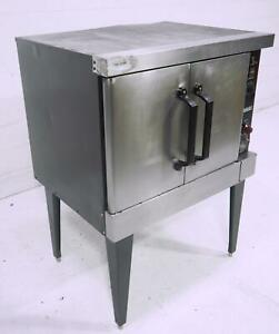 Hobart Dgc5 Gas Convection Oven Electric Controls On Legs