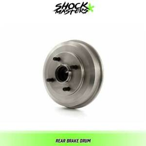 Rear Brake Drum For 2000 2008 Ford Focus Fwd Wheel Bearing Includes