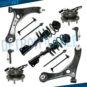12pc Front Struts Control Arm For 2008 2014 Chrysler Town Country Grand Caravan