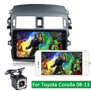 9inch Android 9 0 Bluetooth Stereo Steering Wheel Control For Toyota Corolla