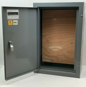 Wire Guard 18 X 12 X 6 Electrical Cabinet Enclosure Pull Box With Lock Key