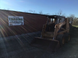 1998 Case 1845c Skid Steer Loader One Owner Cummins Diesel Only 900 Hours