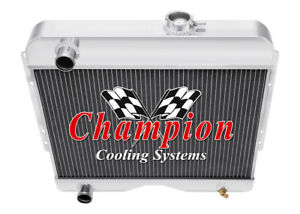 3 Row Cold Champion Radiator For 1946 1964 Willys cc4964