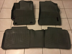 Weathertech Floorliner For Toyota Camry 2012 2014 5 1st 2nd Row Grey