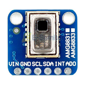 1pcs Amg8833 Ir Thermal Camera Imager 8x8 Infrared Thermograph For Arduino R3
