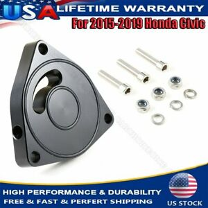 For 15 19 Honda Civic Turbo Blow Off Valve Plate Spacer Bov 1 5t Coupe Billet Us