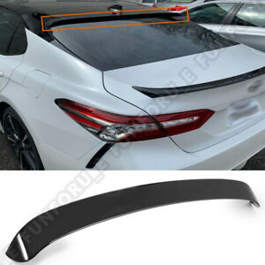 For 2018 2019 Toyota Camry Gloss Black Jdm Sport Rear Window Roof Wing Spoiler