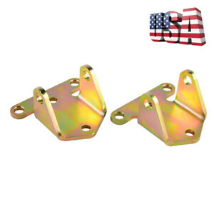 Sbc Front Engine Motor Mount Brackets Small Block Fits For Chevy 283 327 350 400
