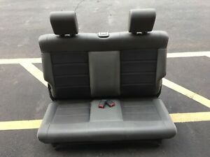 Factory Rear Fold And Tumble Rear Seat From 2008 Jeep Wrangler 2 Door