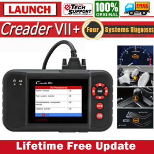 Launch X431 Vii Obd2 Car 4 System Diagnostic Tool Live Data Scanner Pc Printing