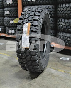 4 New Thunderer Trac Grip M t Mud Tires 2657017 265 70 17 26570r17