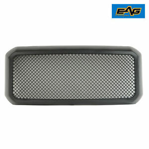 Eag Mesh Grille Packaged Replacement Abs Fit 11 16 Ford F250 F350 Super Duty