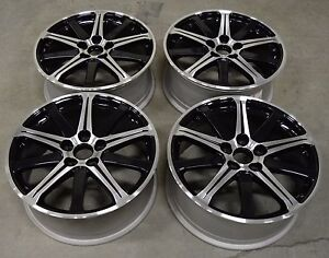 19 Acura Tl 09 10 11 12 13 14 Factory Oem Rim Wheel 71787 Black Machined