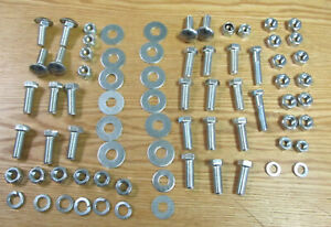 1956 Chevy Bumper Mounting Hardware Kit Front Rear