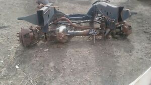 94 97 Dodge Ram 2500 3500 Dana 60 60f Front Axle Assembly 354 3 54
