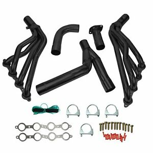 For Chevy Gmc Sierra 1500 1999 2006 Long Tube Exhaust Manifold Header Y Pipe New