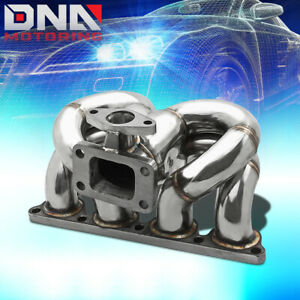 For D series D15a D16a T3 Performance Ram Horn Turbo Charger Manifold Exhaust
