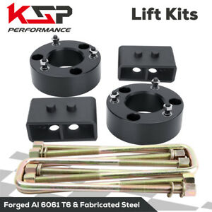 3 Front 3 Rear Leveling Strut Lift Kit Spacer Fits Ford 2wd 2004 2020 F150