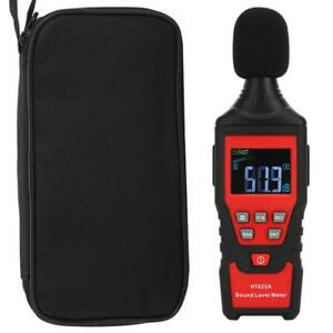 Digital Sound Level Meter Tester Noise Decibel Monitor Lcd Display W Backlight