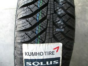 2 New 155 80r13 Inch Kumho Solus Ha31 Snow Tires 1558013 80 13 R13 80r Winter