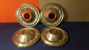 1966 77 Ford Pickup Truck Bronco 4x4 15 Wheel Covers Hubcaps Set Of 4