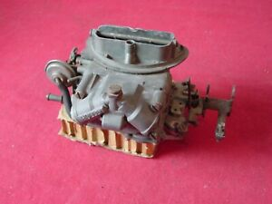 Used 1970 Mopar 440 Six Pack Center 2bbl Carburetor Holley List 4376 Nice Shape