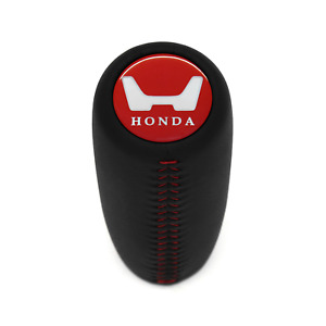 Honda Red Stitch Weighted Shift Knob Fit Crx Civic Si Integra Rsx Accord Prelude