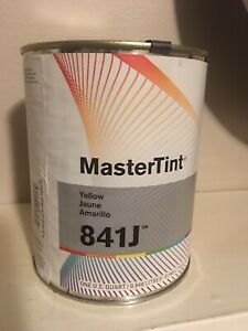 Dupont Mastertint Cromax Qt 841j Yellow Quart Chromabase