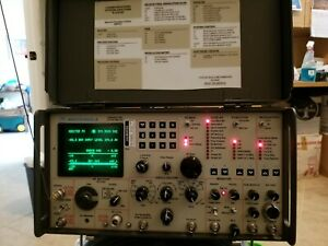 Motorola R2008d Communications Service Monitor system Analyzer Cal And Warranty
