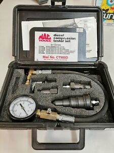 Mac Tools Ct900d Diesel Compression Tester Kit In Case 6pc