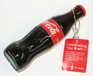 Limited Edition 2011 125 Years of Sharing 1886 Coke Bottle Coca Cola Full w/ Tag