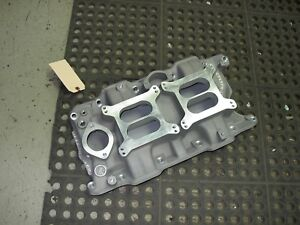 Nos Offy Offenhauser Mopar Dodge Plymouth 273 318 Low Rise Dual Quad 4 Intake