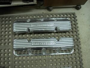 Nos Offenhauser Offy Amc Javelin Amx Marlin Rebel Sst Hot Rod Valve Covers