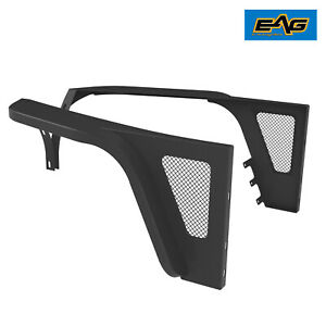 Eag Edge Front Fender Flares W led Eagle Lights Fit For 76 86 Jeep Wrangler Cj7