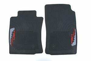 Genuine Oem Trd All Weather Front Floor Mats For Toyota Tacoma 2005 2011