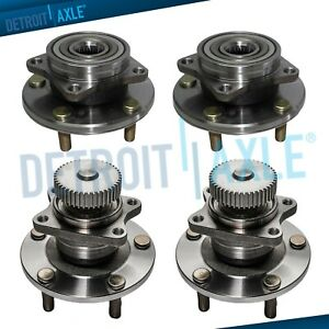 Front Rear Wheel Bearing Hub For 1995 1999 Mitsubishi Eclipse Eagle Talon 2wd