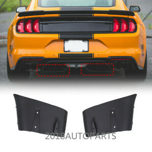 New Rear Bumper Diffuser Valance Aero Foil Kits For Ford Mustang Gt R 2018 2019