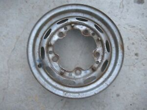 Porsche 356 Drum Brake Wheel Kpz 4 1 2 X 15 Date Stamped 7 61 201 fl