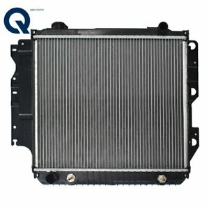 New Radiator For 1987 2006 Jeep Wrangler 4cyl 2 4l 2 5l V6 4 0l 4 2l