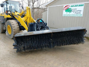 2018 Sweepster Wheel Loader Broom Jrb 416 Coupler