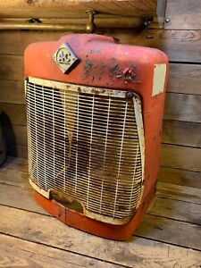 Allis Chalmers D15 Farm Tractor Original Grill Screen From Nose Part Hood 14 17
