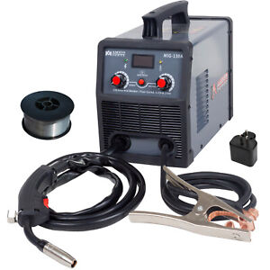 Amico Mig 130a Amp Flux Core Gasless Welder 115 230v Dual Voltage Welding New