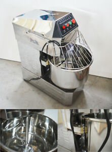 New 110v 30qt Commercial Mixers Dough Mixer Machine Stand Food Preparation
