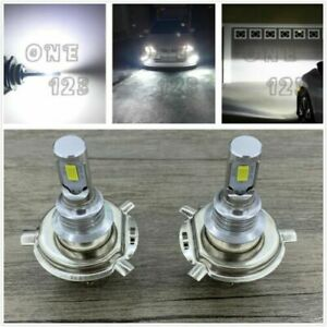H4 9003 6000k White Bright 40w 7000lm Csp Led Headlight Bulbs Kit High low Beam