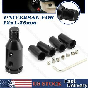 Shift Knob Adapter For Bmw Mini Non Threaded Shifters 12x1 25mm Universal Manual