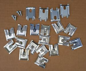 1955 1956 Ford Victoria Or Crown Victoria Roof Rail Clip Kit