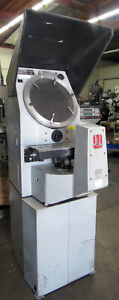Jones Lamson Metrology J l Classic 14t Optical Comparator 14 With 2 axis Dro