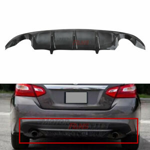 Carbon Fiber Rear Under Diffuser Lip Bumper For Nissan Teana Altima 2016 17 2018