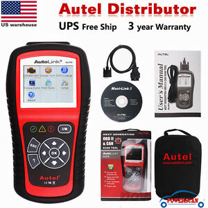 Autel Autolink Al519 Auto Enhanced Obdll Diagnostic Scanner Tool Code Reader Us
