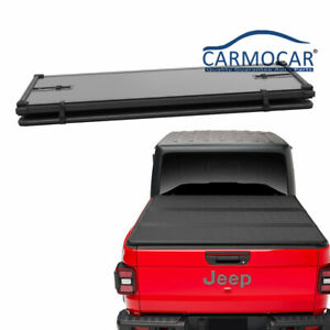 New Truck Bed Hard Solid Tri fold Tonneau Cover For 2020 Jeep Gladiator Jt Picku